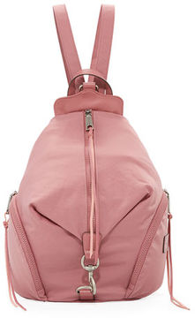 Rebecca Minkoff Washed Nylon Multi-Zip Backpack - TRUE NAVY - STYLE