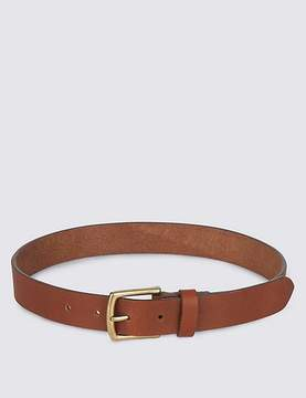 Marks and Spencer Kids' Leather Tan Belt
