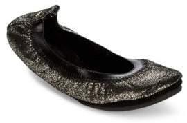 Yosi Samra Dress Foldable Leather Flats