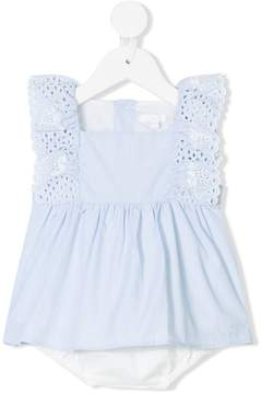 Chloé Kids broderie anglaise dress