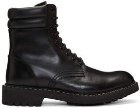 Givenchy Black Tank Boots