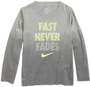 Nike Toddler Boy's Fast Never Fades Long Sleeve T-Shirt