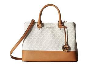 MICHAEL Michael Kors Savannah Large Satchel Satchel Handbags
