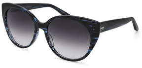 Barton Perreira Kuuipo Butterfly Gradient Sunglasses, Midnight