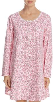Eileen West Long Sleeve Short Sleepshirt