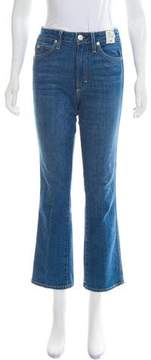 Amo Mid-Rise Straight-Leg Jeans w/ Tags