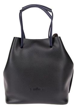 Hogan Women's Black Leather Shoulder Bag.