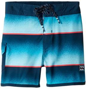 Billabong Kids 73 Light Lineup Boardshorts Boy's Swimwear