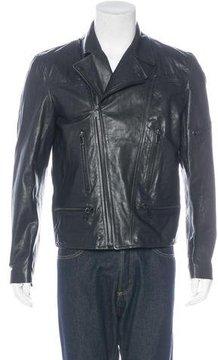 Marc Jacobs Leather Biker Jacket