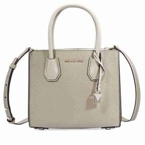 Michael Kors Mercer Medium Pebbled Leather Crossbody Bag- Truffle - ONE COLOR - STYLE