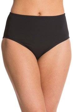 Anne Cole Color Blast Solids High Waist Bikini Bottom 8127537