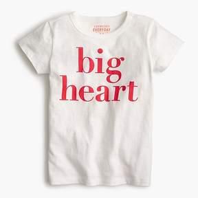 J.Crew Girls' big heart T-shirt