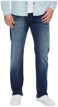 Mavi Jeans Myles Mid-Rise Straight Leg in Dark Used Williamsburg Men's Jeans