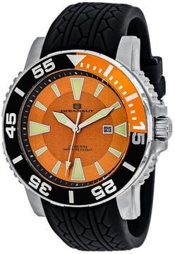 Oceanaut Marletta OC2915 Men's Round Black Silicone Watch