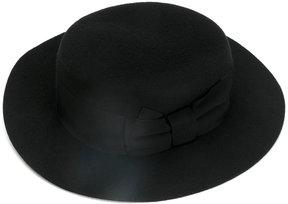 Federica Moretti round ribbon hat