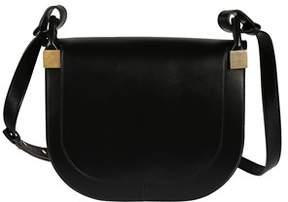 Victoria Beckham Women's Vba148black Black Faux Leather Shoulder Bag.