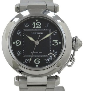 Cartier Pasha C W31043M7 Stainless Steel Automatic 35mm Mens Watch