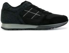 Hogan logo stitch sneakers