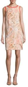 Basler Printed Sleeveless Dress