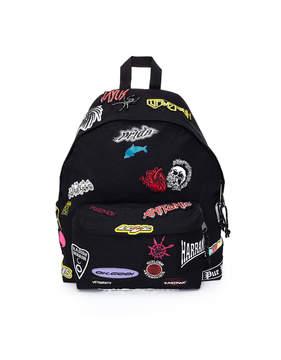 Vetements Black X Eastpak Sticker Patch Backpack Bag
