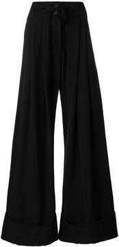 Ann Demeulemeester Mustang flared trousers