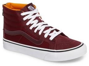 Vans Women's 'Sk8-Hi' Slim Zip Sneaker