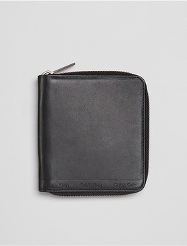 Calvin Klein Zip-Around Coin Wallet