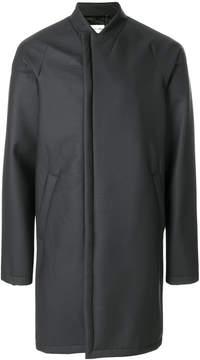 Helmut Lang collarless coat