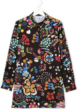 Simonetta floral printed shirt