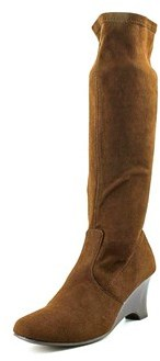Karen Scott Lena Round Toe Synthetic Knee High Boot.