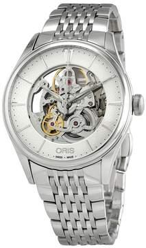 Oris Artelier Skeleton Dial Automatic Men's Steel Watch