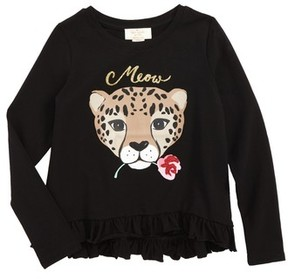 Kate Spade Toddler Girl's Meow Tee