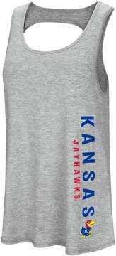 Colosseum Women's Kansas Jayhawks Twisted Back Tank Top