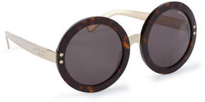 Henri Bendel Carrie Round Sunglasses