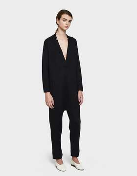 LAUREN MANOOGIAN Utility Jumpsuit in Black