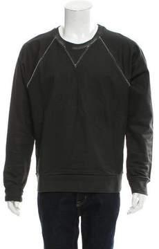 Balenciaga Coated Crew Neck Sweatshirt