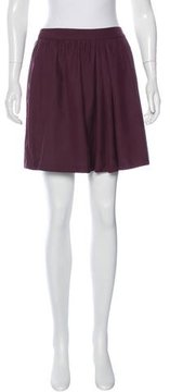 Steven Alan Silk Mini Skirt