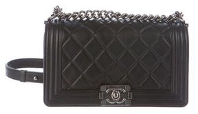 Chanel Quilted Medium Old Boy Flap Bag