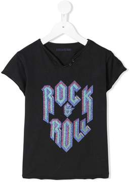 Zadig & Voltaire Kids Rock and Roll T-shirt