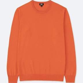 Uniqlo Men's Washable Crewneck Long-sleeve Sweater