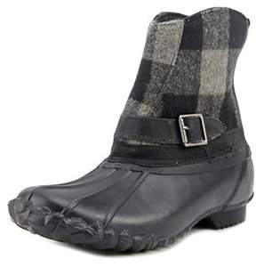 Chooka Step-in Duck Boot Buffalo Round Toe Synthetic Rain Boot.