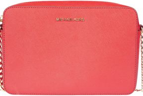 Michael Kors Jet Set Crossbody Bag - BRIGHT RED - STYLE