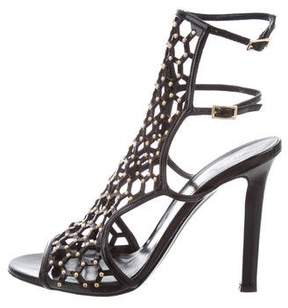 Tamara Mellon Studded Cage Sandals