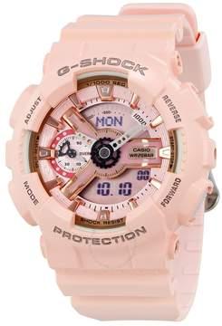 Casio G-Shock Digital Dial Pink Resin Ladies Watch
