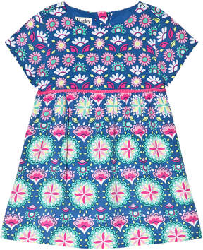 Hatley Blue Print Jersey Dress