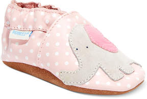 Robeez Baby Girls' Little Peanut Shoes