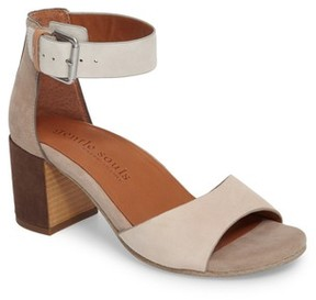 Gentle Souls Women's Christa Block Heel Sandal