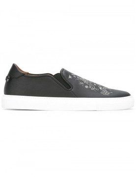 Givenchy tattoo print slip-on sneakers