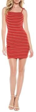 Bardot Romy Tie Strap Tube Dress