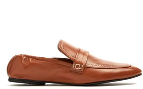 Joseph Collapsible-heel leather loafers